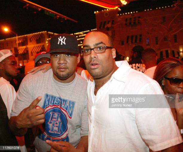 Buck Wild and Renne McClain during Sean P Diddy Combs Party in Miami May 1 2005 at Cro Bar in Miami Florida United States