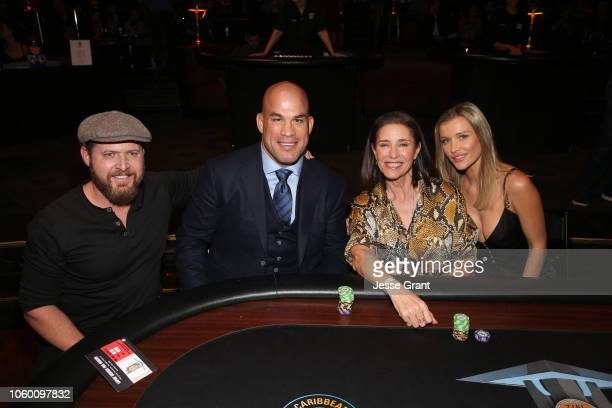 Buckely, Tito Ortiz, Mimi Rogers and Joanna Krupa attend Heroes For Heroes: Los Angeles Police Memorial Foundation Celebrity Poker Tournament at...