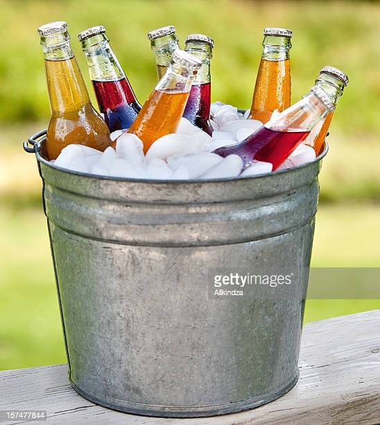 bucket o pop bottles
