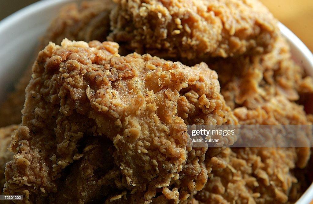 KFC To Stop Using Trans Fats : News Photo