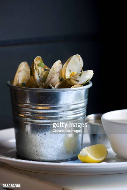 Bucket of Steamed Clams