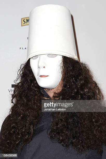 Buckethead attends the VH1 Divas After Party To Benefit The VH1 Save The Music Foundation at The Shrine Auditorium on December 16 2012 in Los Angeles...