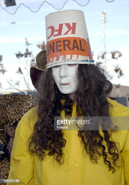 Buckethead during The 46th Annual GRAMMY Awards Heineken Green Carpet at Staples Center in Los Angeles California United States