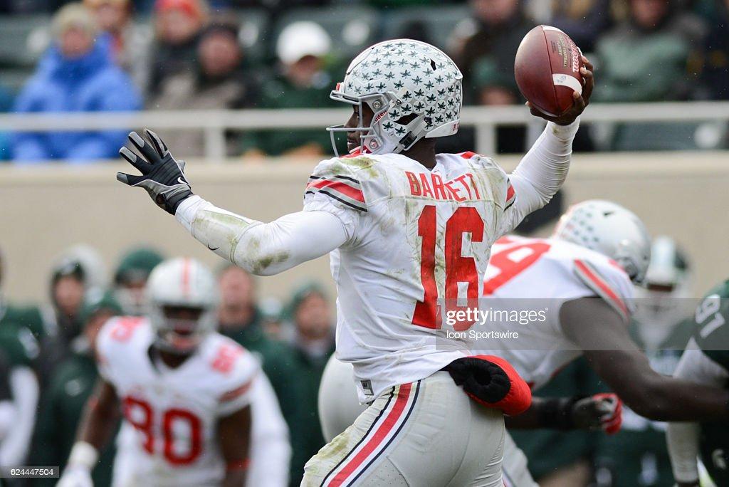 NCAA FOOTBALL: NOV 19 Ohio State at Michigan State : News Photo