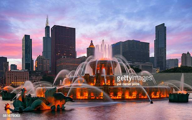 Buckingham Fountain, Chicago, Illinois