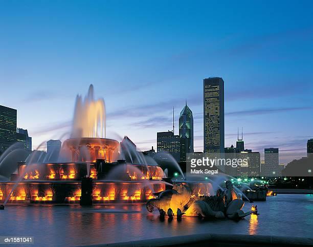 Buckingham Fountain, Chicago, Illinois, USA