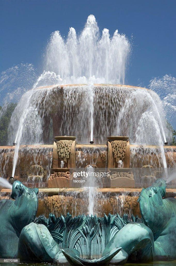 Buckingham Fountain Detaill : Stock Photo