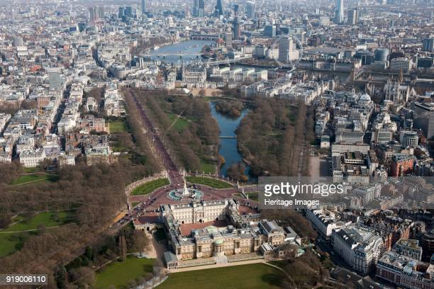 Buckingham Palace and St James's Park Westminster London 2015