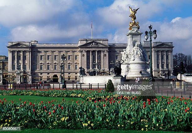 Buckingham Palace London residence of the reigning monarch of the United Kingdom London England United Kingdom