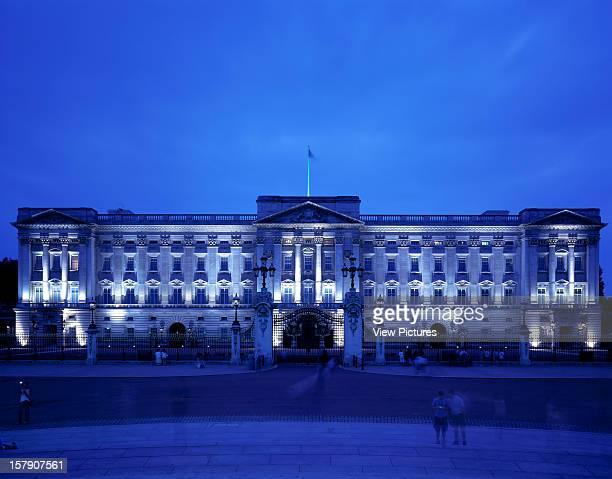 Buckingham Palace London United Kingdom Architect John Nash / Aston Webb Buckingham Palace Exterior View At Night