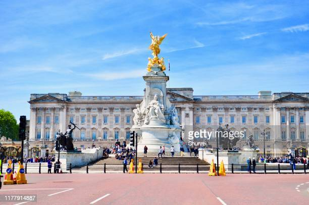 バッキンガム宮殿 - バッキンガム宮殿 ストックフォトと画像