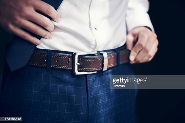 buckle up, you're about to get married - trousers stock pictures, royalty-free photos & images