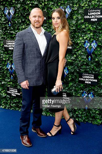 Buckley and Abigail Ochse attend One For The Boys Fashion Ball hosted by Samuel L Jackson uniting men against cancer to kick start London Collections...