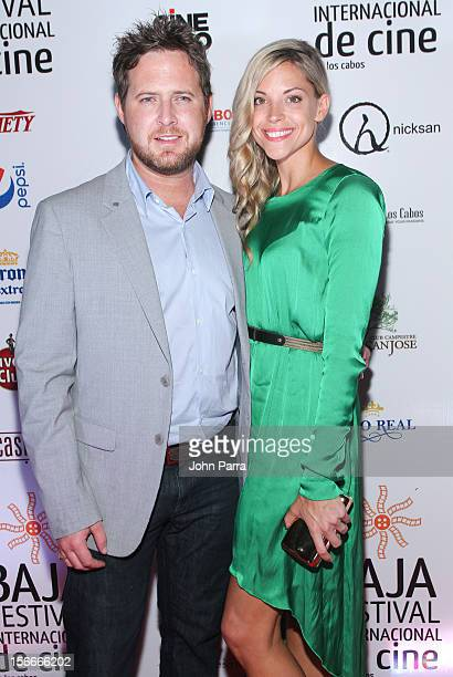 Buckley and Abigail Ochse attends the Closing Night Gala during the Baja International Film Festival at Los Cabos Convention Center on November 17...