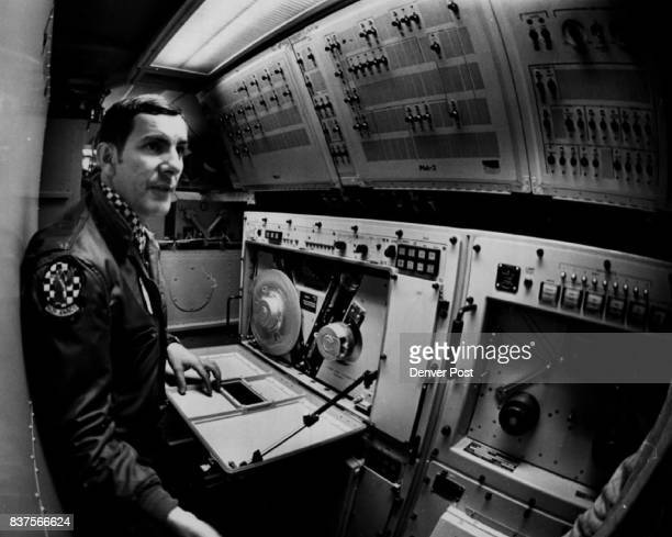 Buckley Field top secret Airplane with Radar Dome Larry E Simms Credit Denver Post