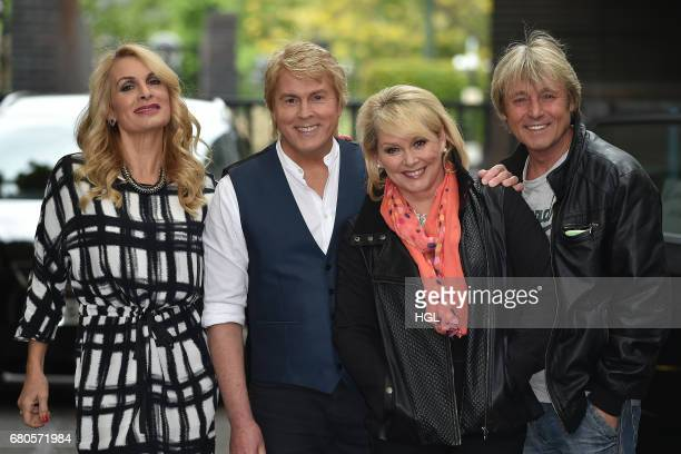 Bucks Fizz seen at the ITV Studios on May 9 2017 in London England