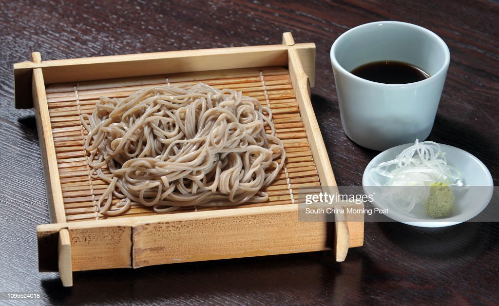 Buckwheat Noodle (Soba) of Gonpachi in Causeway Bay. 03FEB15 : ニュース写真
