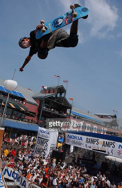 Bucky Lasek during The Nokia TMobile Ramps Amps Invitational Presented by EXPNcom at South Street Seaport in New York City New York United States