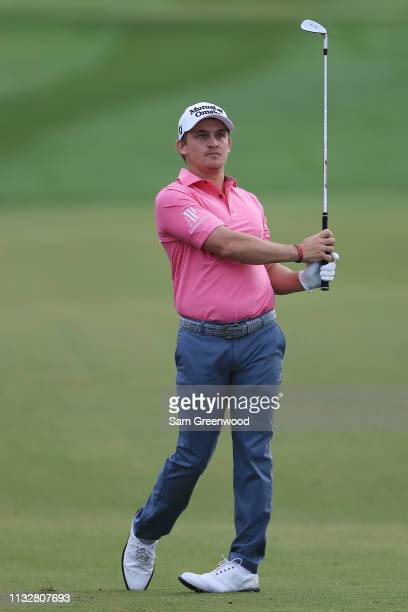 Bud Cauley plays his second shot on the fourth hole during the first round of the Honda Classic at PGA National Resort and Spa on February 28 2019 in...