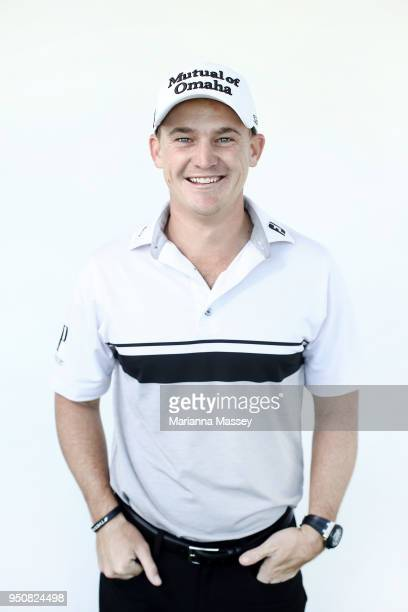Bud Cauley poses for a portrait ahead of the Zurich Classic at TPC Louisiana on April 24 2018 in Avondale Louisiana
