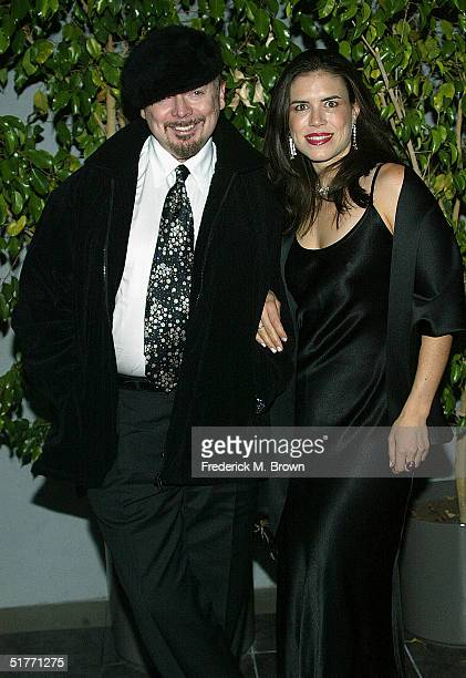 "Bud Cort and god neice Jade Marks attend the film premiere of ""The Life Aquatic With Steve Zissou"" on November 20, 2004 at the Harmony Gold Theater,..."