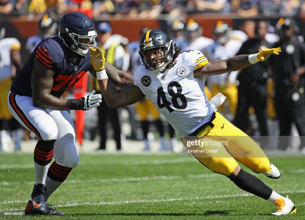 Pittsburgh Steelers v Chicago Bears : News Photo