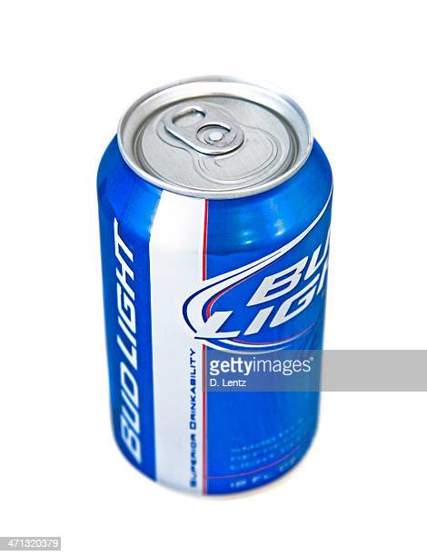 bud light beer can - bud light stock pictures, royalty-free photos & images