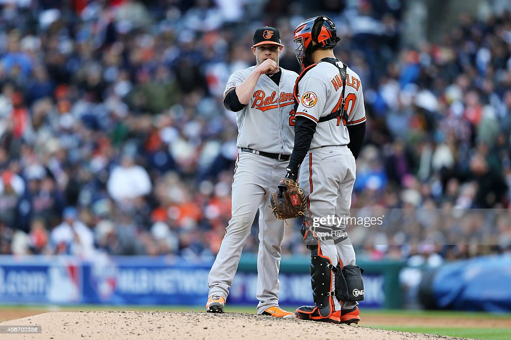Division Series - Baltimore Orioles v Detroit Tigers - Game Three : News Photo