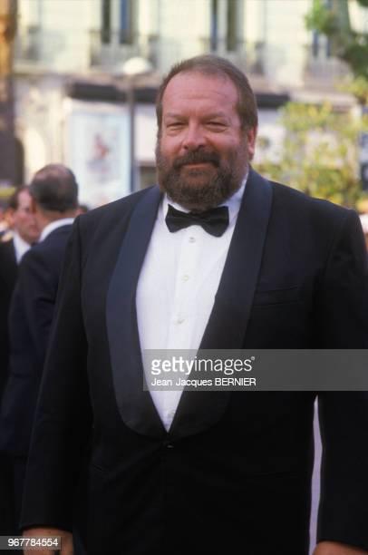 Bud Spencer lors du 38ème Festival de Cannes le 18 mai 1985 France