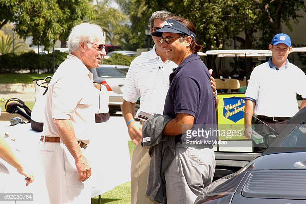 Bud Yorkin and Andy Garcia attend 8th Annual American Film Institute Golf Classic Presented By General Motors at Riviera Country Club on September 19...