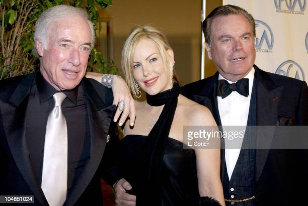 Bud Yorkin Katie Wagner and Robert Wagner during 14th Annual Producers Guild of America Awards at Century Plaza Hotel in Los Angeles California...