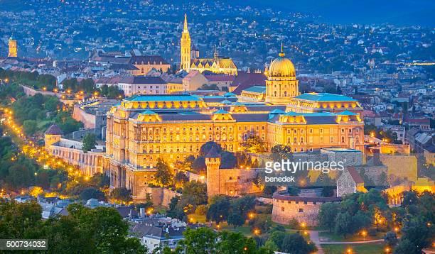Schloss Buda und Burgviertel von Budapest, Ungarn
