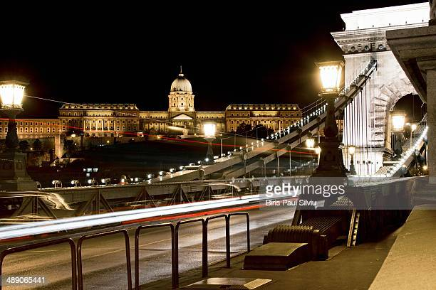 CONTENT] Buda Castle and Szechenyi Chain Bridge in Budapest