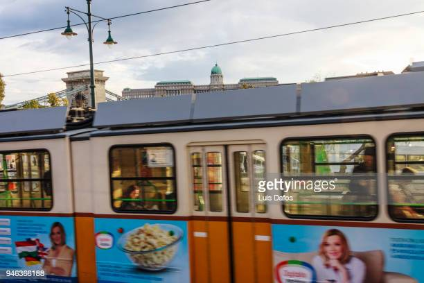 budapest cable car - dafos stock photos and pictures