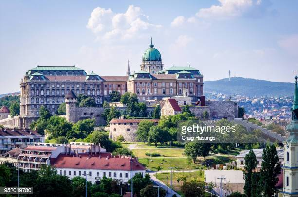budapest city view skyline hungary - hungarian culture stock photos and pictures