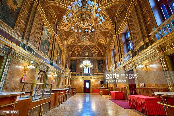 Budapest, Foyer Interior of the Opera house
