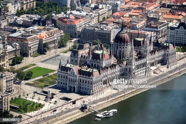Budapest aus der Luft
