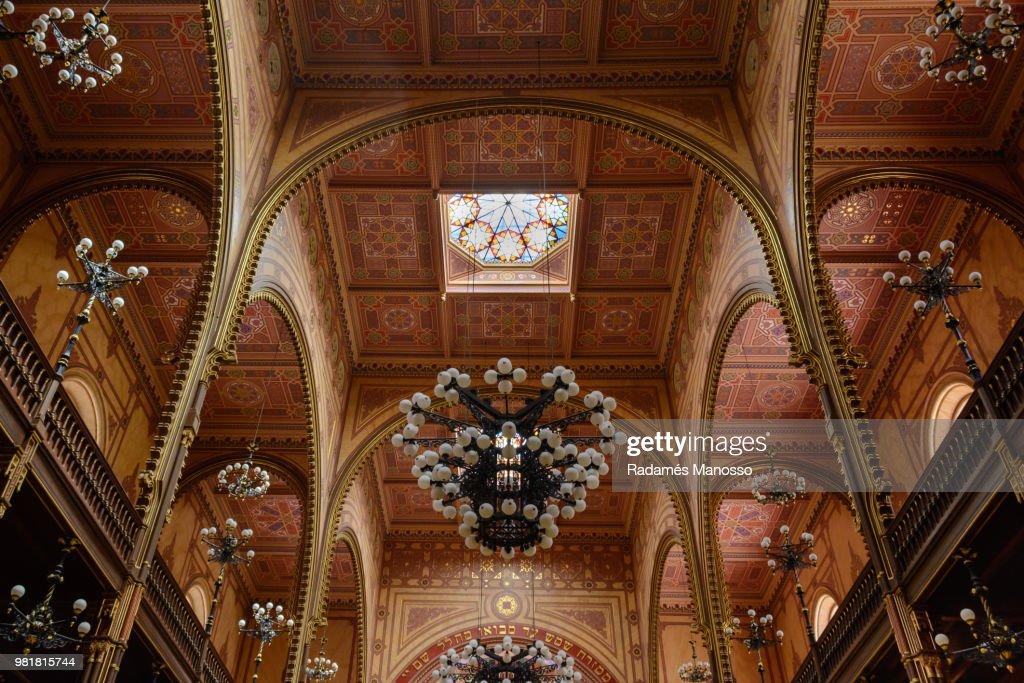 Budapest Great Synagogue : Foto de stock