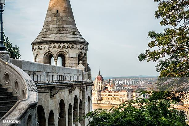budapest országház parliament hungary river danube nobody fisherman's bastion horizontal - budapest stock pictures, royalty-free photos & images