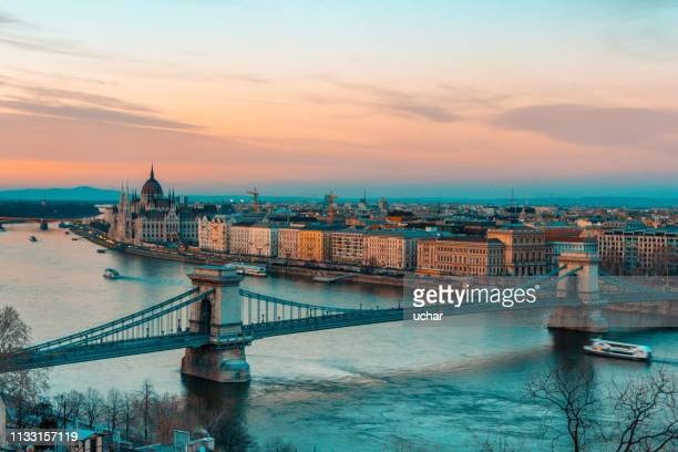 budapest - royal palace budapest stock pictures, royalty-free photos & images
