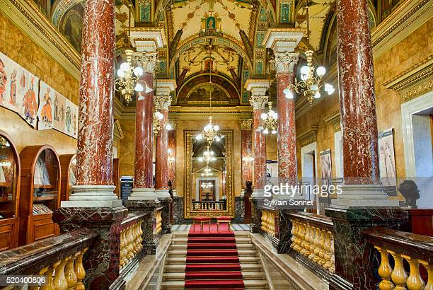 Budapest, the Hall of the Opera House