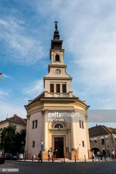 budavári evangélikus templom és gyülekezet lutheran church budavár - saint eloi photos et images de collection