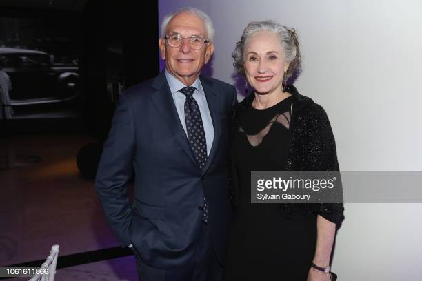 Budd Goldman and Polly Rua attend Museum Of The City Of New York Louis Auchincloss Prize Gala at Museum of the City of New York on November 14, 2018...