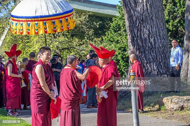 Buddha-Veranstaltung in Golden Tor Park, San Francisco