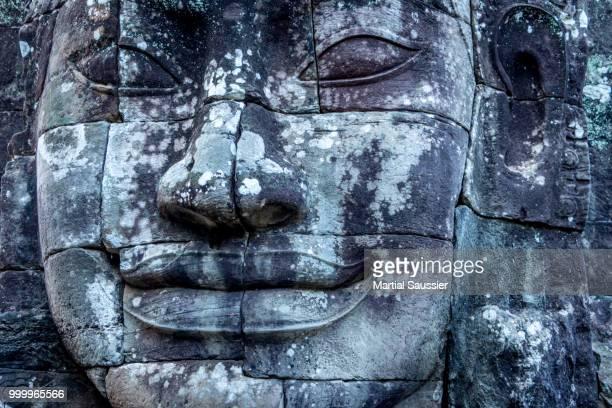 Buddha face in Angkor