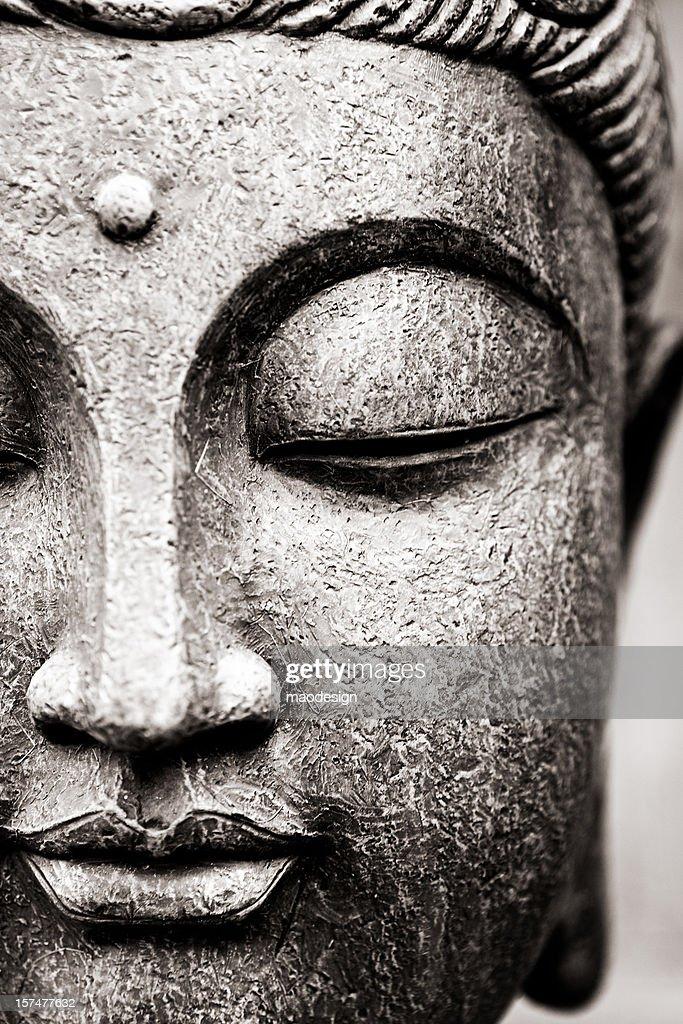 Buddha Face : Stock Photo