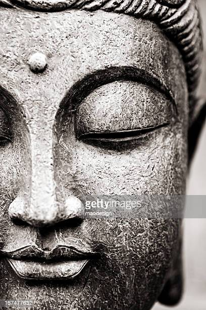 buddha face - buddha stock photos and pictures