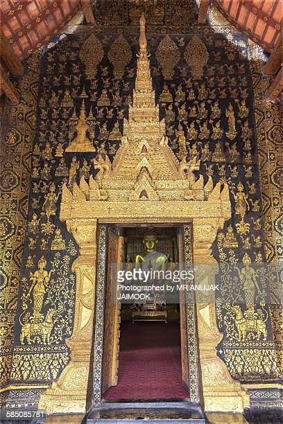 Buddha Image at Wat Xieng Thong, Luang Prabang