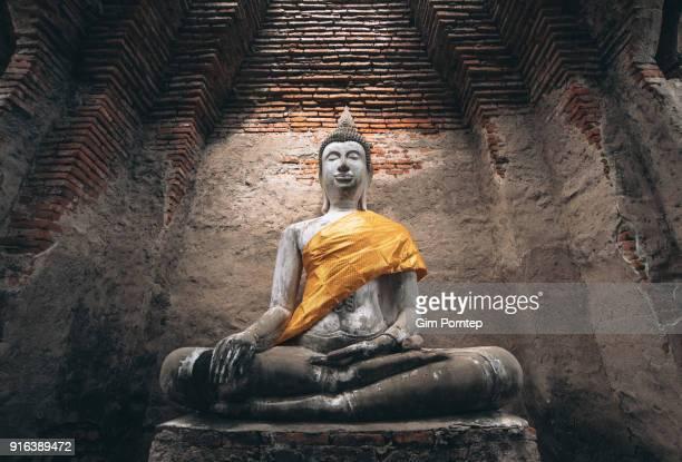 Buddha in Ayutthaya, Ancient town of thailand