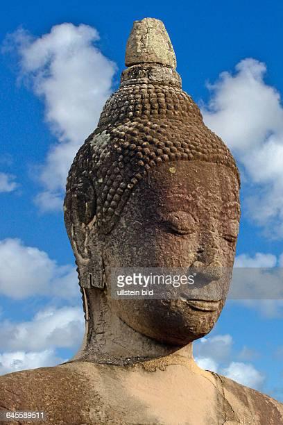 Buddha in Thailand, Ayutthaya, Porträt,